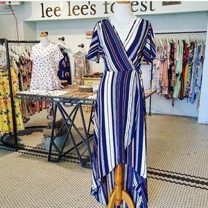 Botique Wrap Dress
